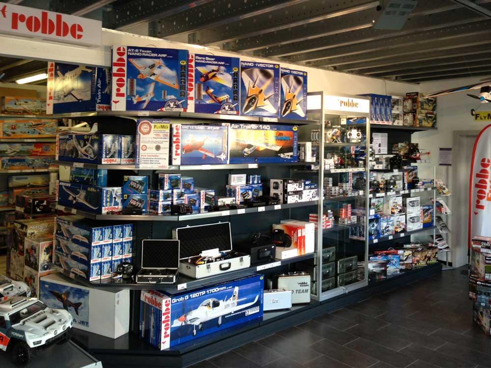 Hausmesse bei Modellbau Flymex mit Robbe Modelbau